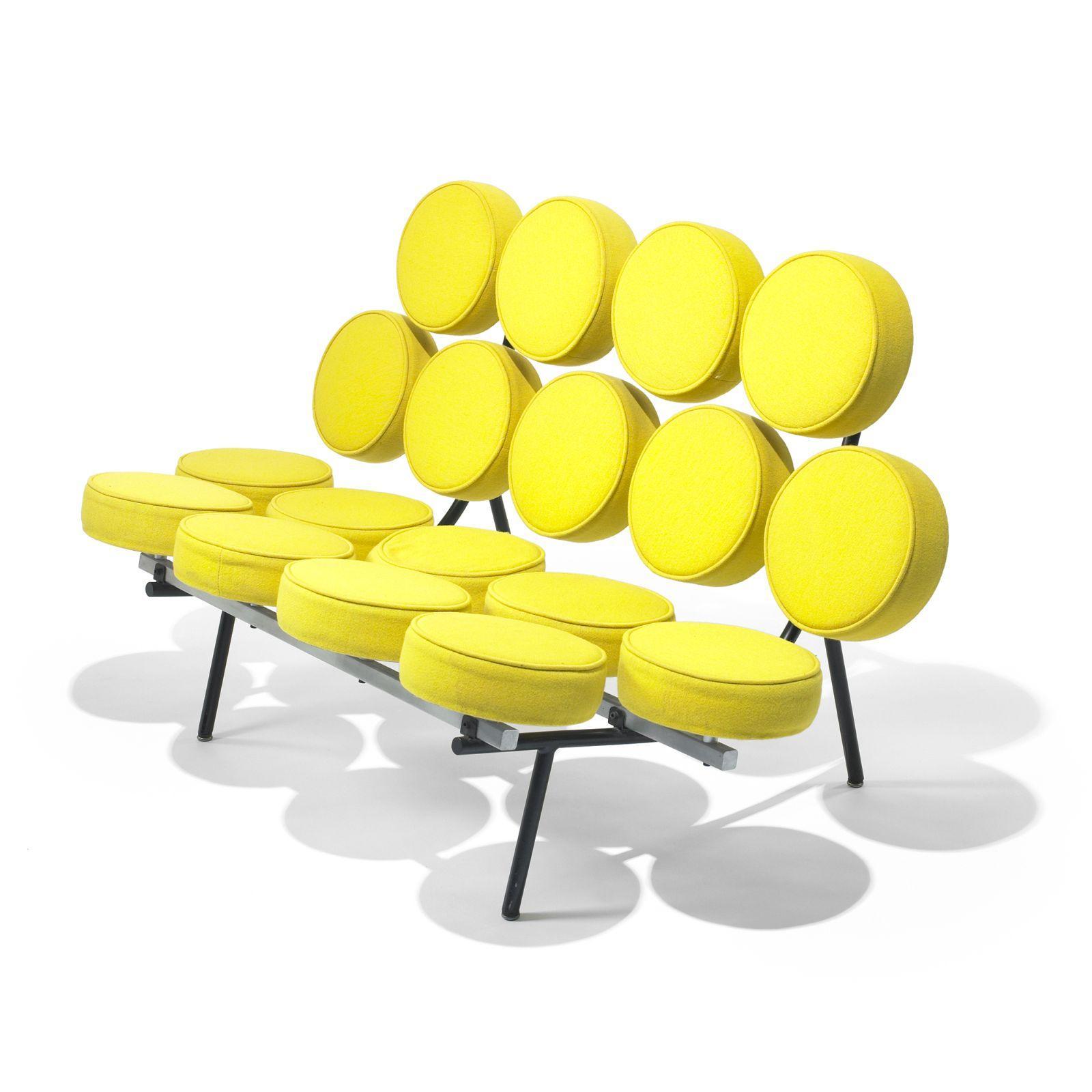 George Nelson & Associates Marshmallow sofa model 5670