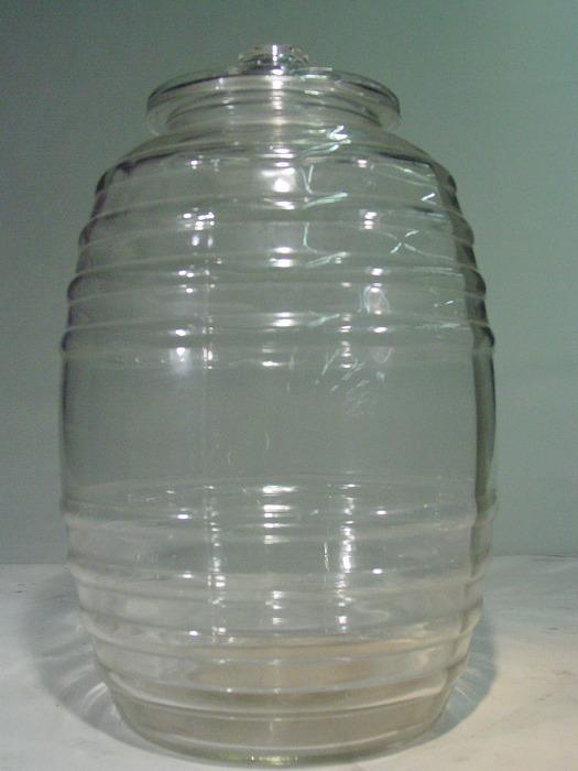 Favorite Vintage 1930's Extra Large Glass Jar 20