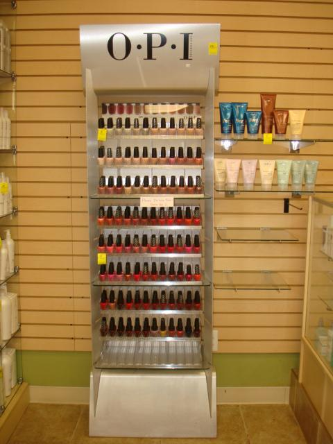 Nail Polish Floor Standing Rack