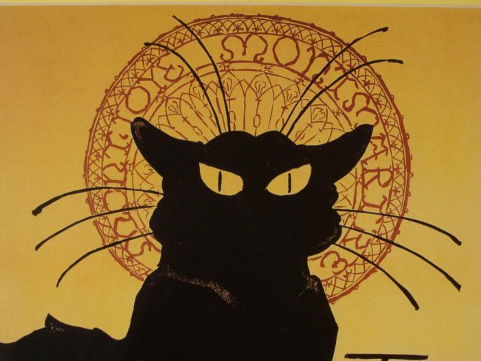 Image 2 Tournee Du Chat Noir French Black Cat Art Poster Framed