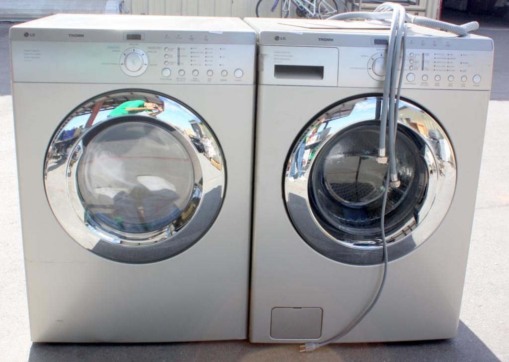 Image 1 Lg Tromm Washer Dryer Set