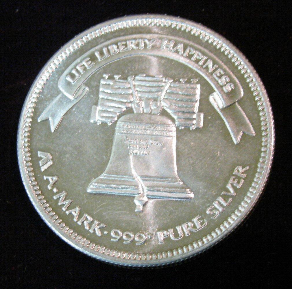 One Troy Ounce 999 Fine Silver