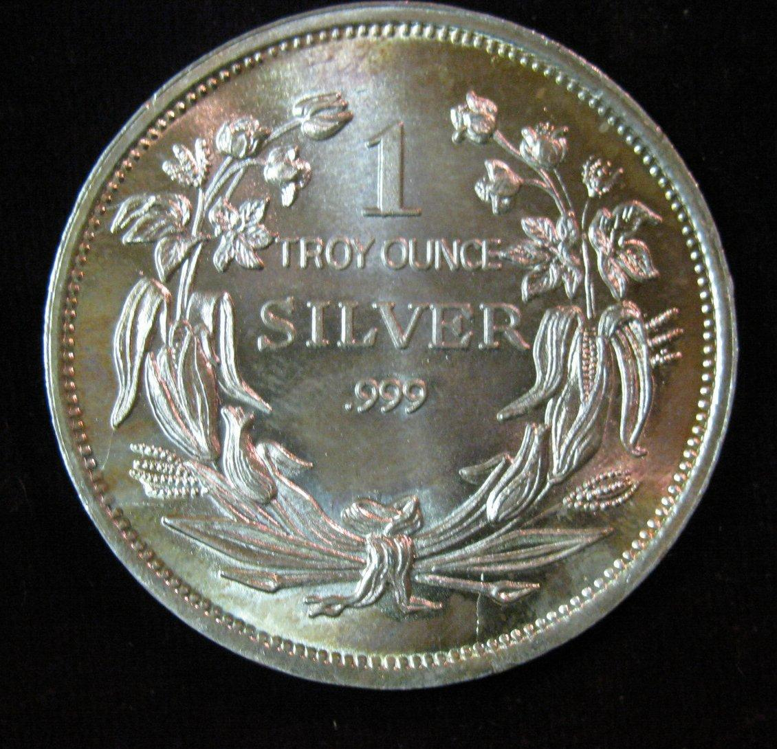 Troy Ounce Silver Value Pictures