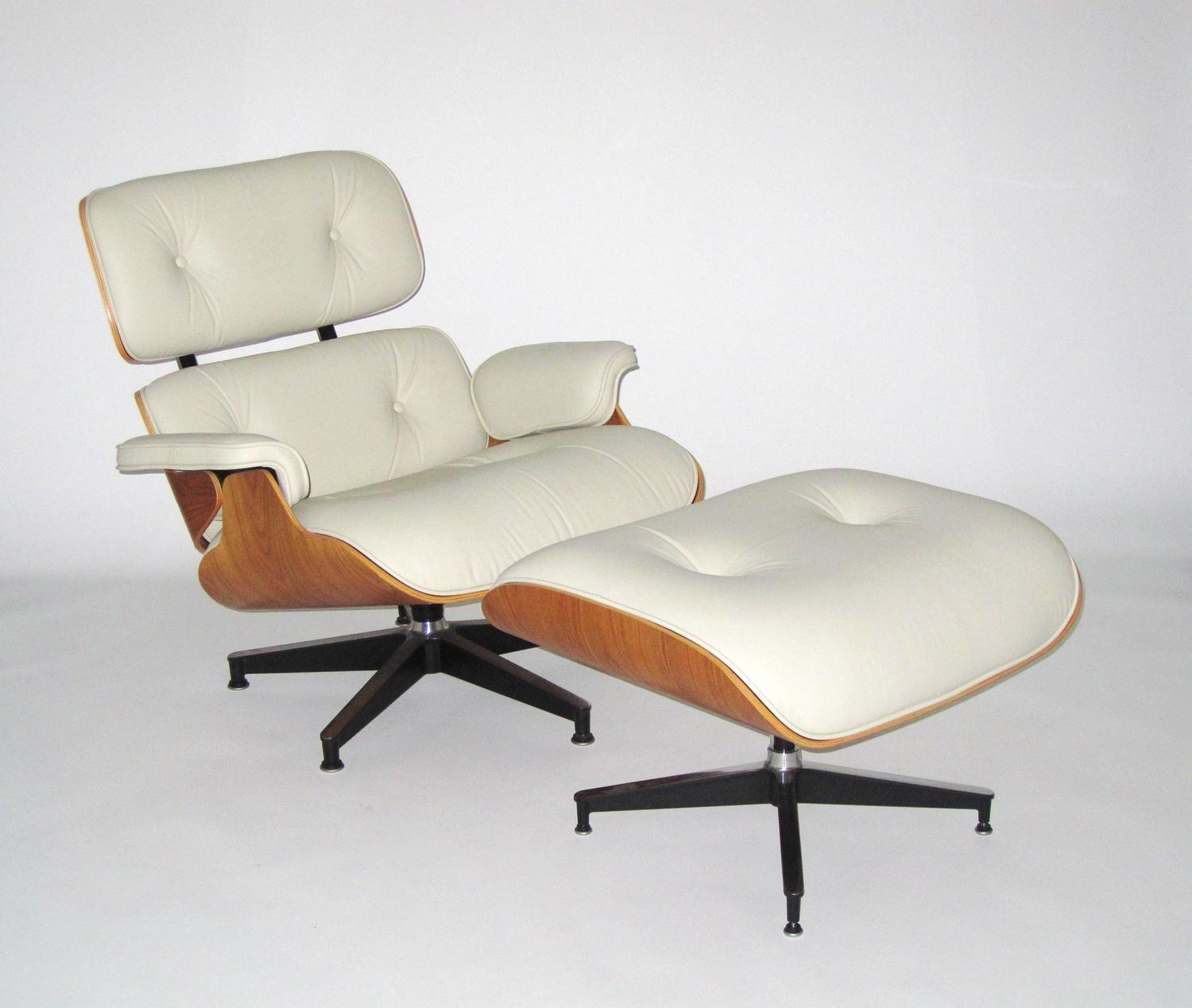 Charles And Ray Eames For Herman Miller Recliner With Ottoman 2005 Loading Zoom