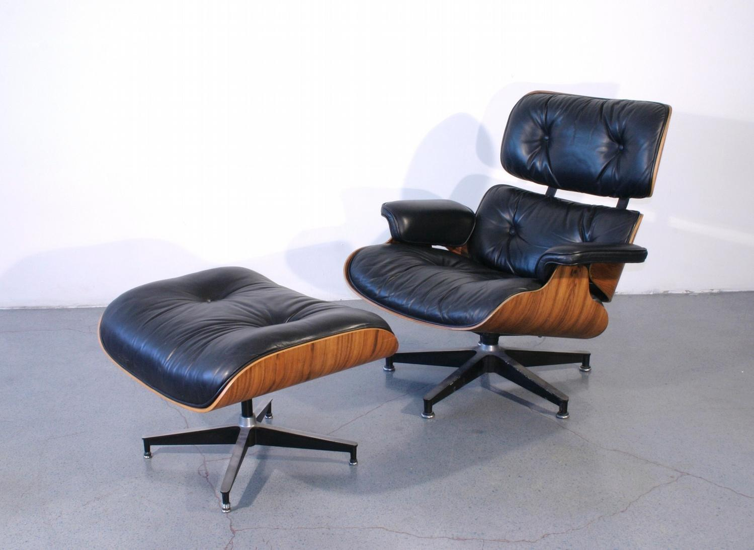 Charles And Ray Eames For Herman Miller Recliner With Ottoman C 1950 Loading Zoom