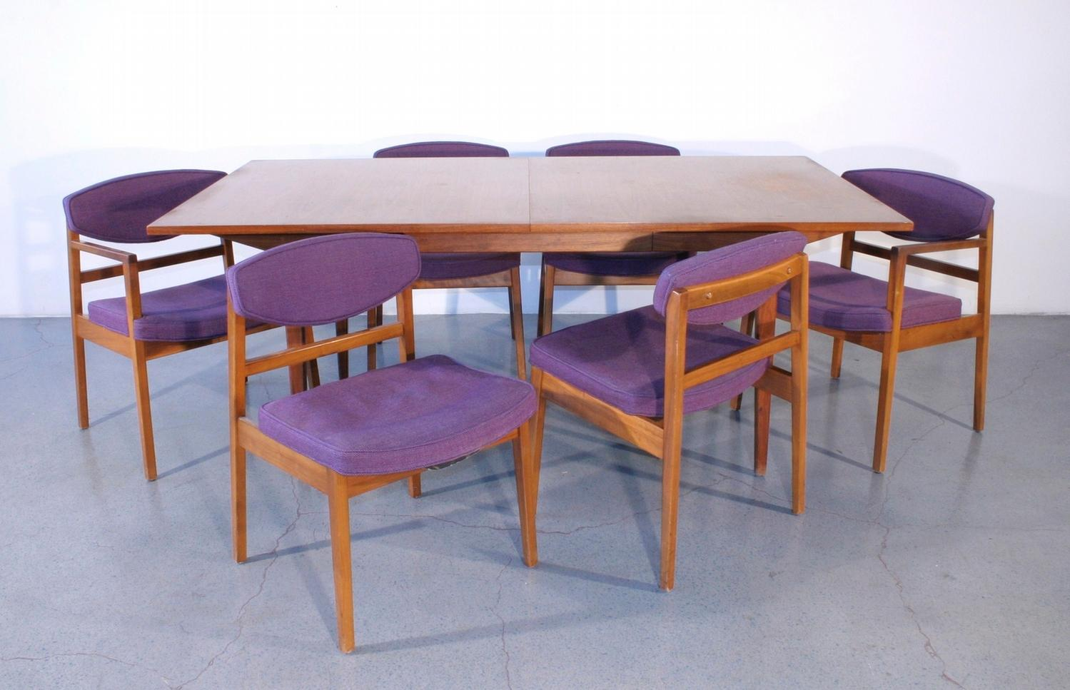 George Nelson For Herman Miller Dining Table With 6 Chairs C 1950 Loading Zoom