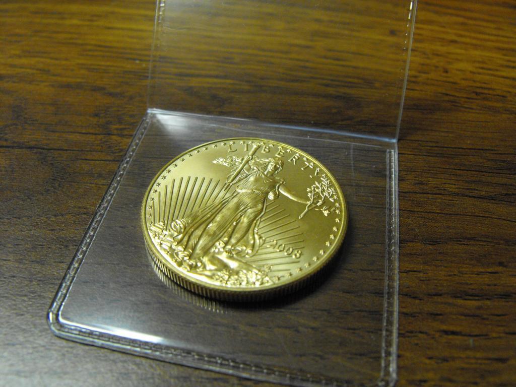 1 Oz Gold American Eagle Bullion Loading Zoom