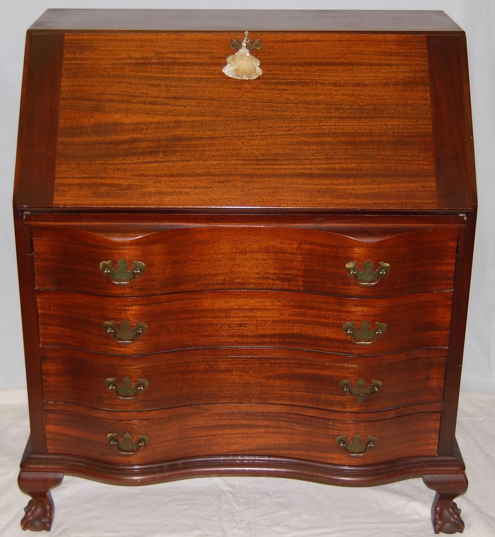 antique secretary desk value Antique