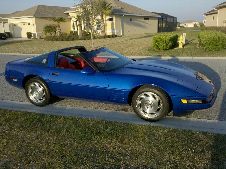 Corvette 1994 chevy corvette : 1994 Chevrolet Corvette Coupe