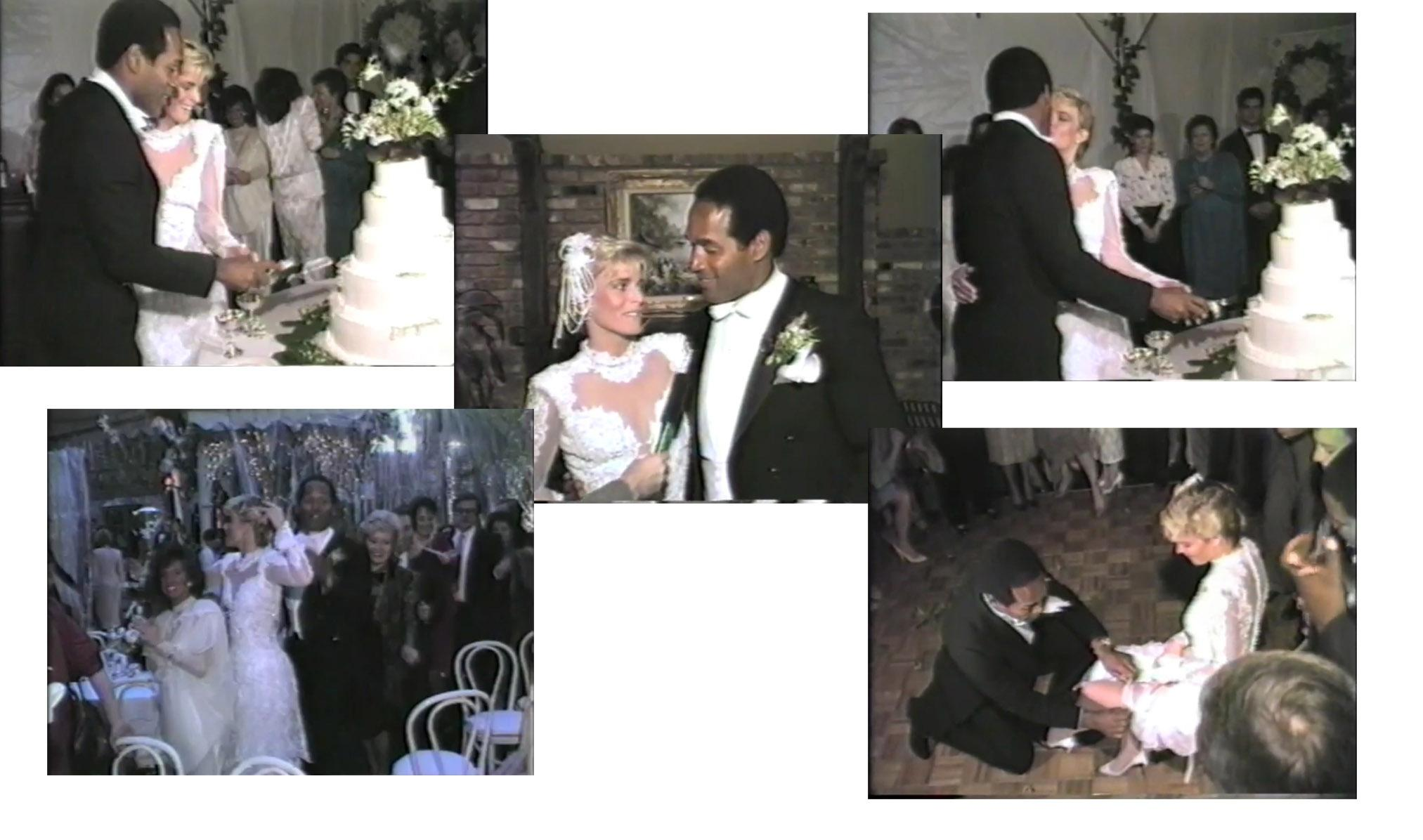 O J Nicole Simpson Wedding Video Loading Zoom